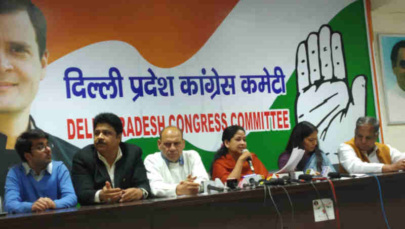 Congress to Hold Candle March to Make Delhi Pollution-Free