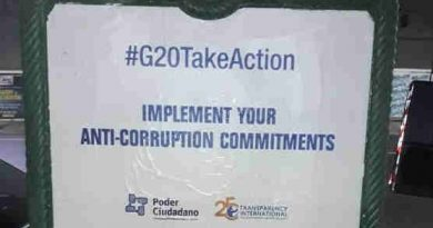 #G20TakeAction: Implement Your Anti-Corruption Commitments