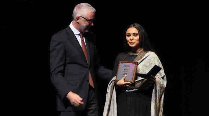 Rani Mukerji Wins the Best Actress Award for Hichki. Photo: Yash Raj Films