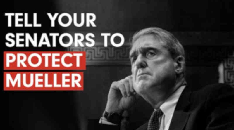 Campaign Launched to Protect Mueller Investigation Against Trump