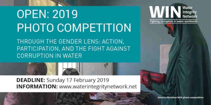 Photo Competition: Fight Against Corruption in Water