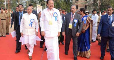 M. Venkaiah Naidu at the Annual Day Celebrations of Jubilee Hills Public School in Hyderabad, Telangana on December 22, 2018