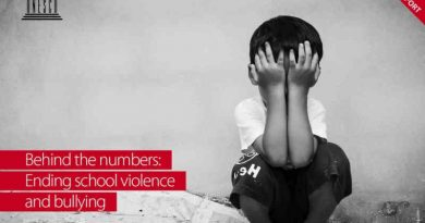 UNESCO's report, Behind the numbers: ending school violence and bullying