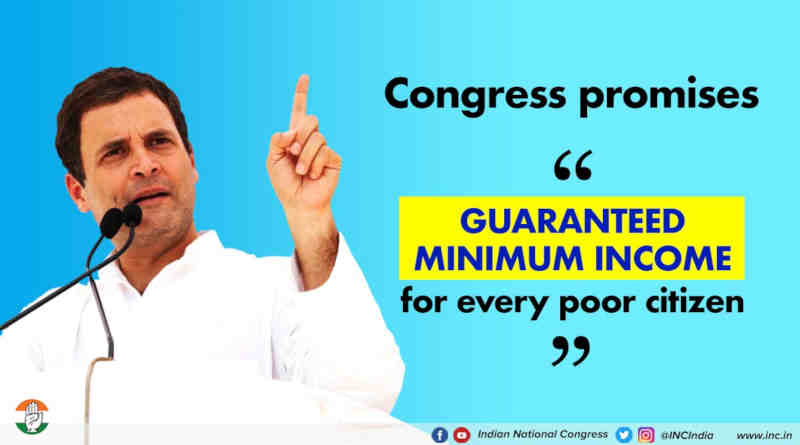 Congress Promises Minimum Income Guarantee to Poor. Photo: Congress