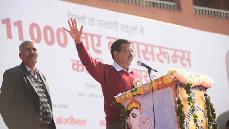 Delhi Chief Minister Arvind Kejriwal. Photo: AAP