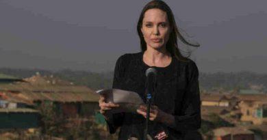 Angelina Jolie Urges to Save Rohingya Refugees