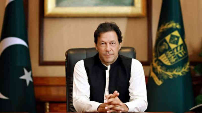 Prime Minister (PM) of Pakistan Imran Khan. Photo: Pakistan Prime Minister's Office