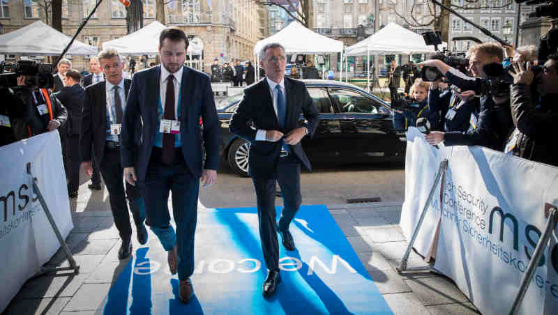 NATO Secretary General Jens Stoltenberg participates in the Munich Security Conference on February 15, 2019. Photo: NATO