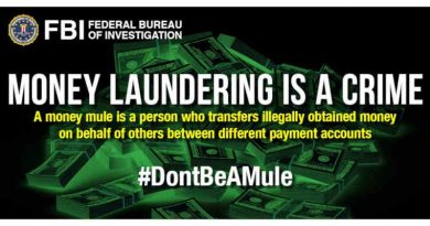 Money Mules. Photo: FBI