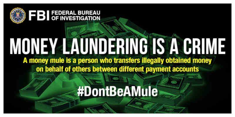 Money Mules. Photo: FBI