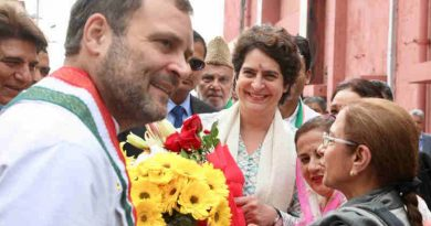Rahul Gandhi and Priyanka Gandhi. Photo: Congress