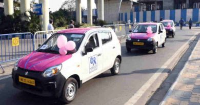 Pink Cab Service for Women Entrepreneurs