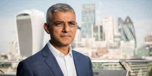London Mayor Saddiq Khan