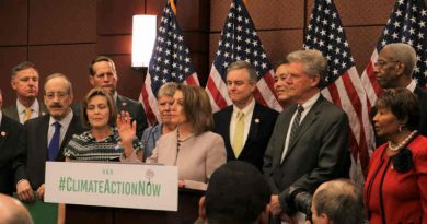 Climate Action Now Act. Photo: U.S. Congress