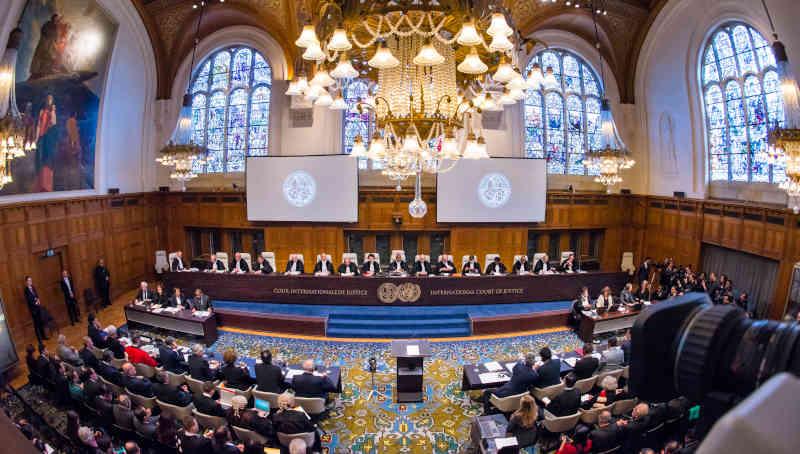 UN Photo / ICJ-CIJ / Frank van Beek. Courtesy of the ICJ