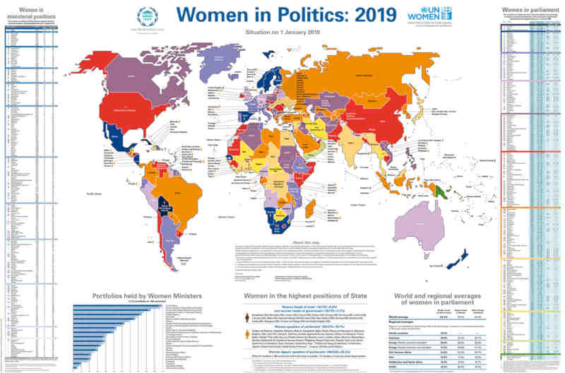 Inter-Parliamentary Union (IPU) Map