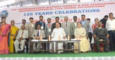 M. Venkaiah Naidu at the 125th anniversary celebrations of Visakhapatnam District Court Bar Association, in Visakhapatnam, Andhra Pradesh on March 30, 2019. Photo: PIB