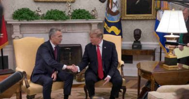 NATO Secretary General Jens Stoltenberg visited the White House on Tuesday (2 April 2019) for a meeting with US President Donald Trump.