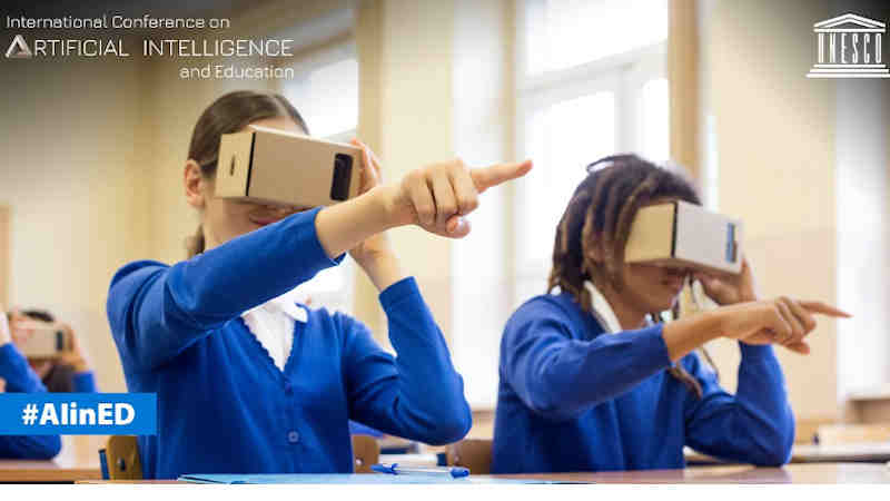 Artificial Intelligence in Education. Photo: UNESCO