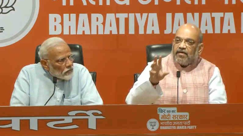 Modi Holds First Press Conference, But Refuses to Answer Questions. Photo: BJP