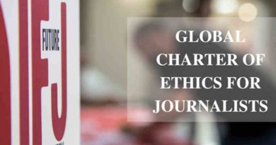 Global Charter of Ethics for Journalists