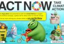 Angry Birds to Run ActNow Campaign for Action on Climate Change