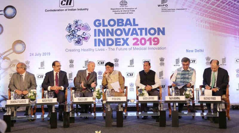 Global Innovation Index 2019 (GII). Photo: GII