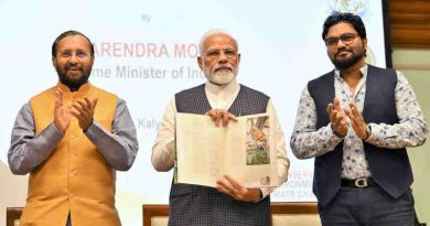 Narendra Modi releasing the results of 4th cycle of All India Tiger Estimation – 2018, on the occasion of the Global Tiger Day, in New Delhi on July 29, 2019. Photo: PIB