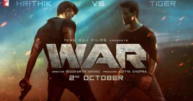 Bollywood Film WAR