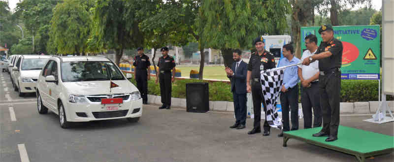 Indian Army Launches E-Car to Combat Pollution in Delhi. Photo: PIB