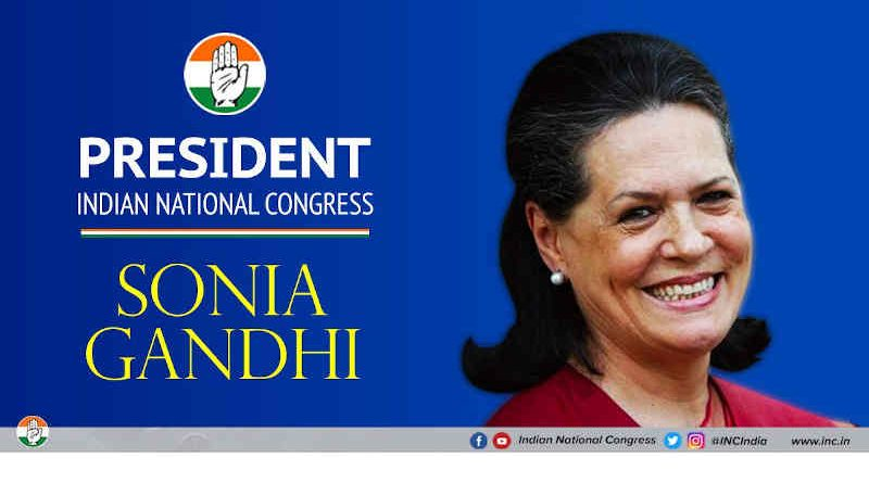 Sonia Gandhi. Photo: Congress