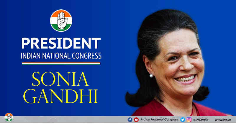 Sonia Gandhi. Photo: Congress