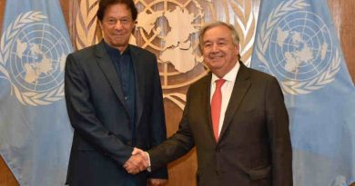 Prime Minister (PM) of Pakistan Imran Khan with UN Secretary General António Guterres. Photo: Pakistan Government