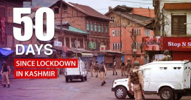 Trouble in Kashmir. Photo: Congress