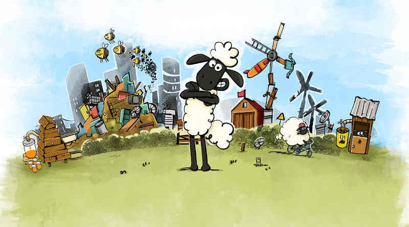 Sustainable Shaun Online Game. Photo: European Commission