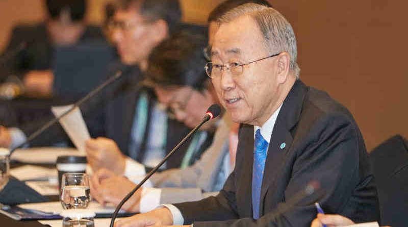 Ban Ki-moon. Photo: GGGI