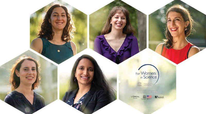 L'Oréal Announces 2019 For Women In Science Fellows. Courtesy of L'Oréal USA.