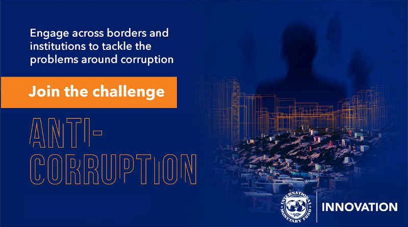 IMF to Hold Virtual Pitch Event for Anti-Corruption Challenge