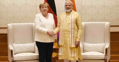 PM Narendra Modi meeting the Chancellor of the Federal Republic of Germany, Dr. Angela Merkel, in New Delhi on November 01, 2019. Photo: PIB