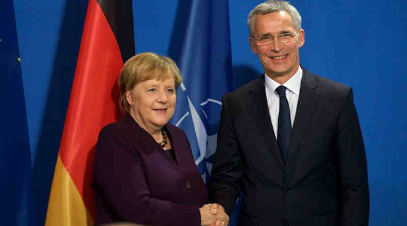 NATO Secretary General Jens Stoltenberg and German Chancellor Angela Merkel. Photo: NATO (file photo)