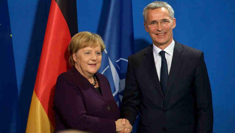 NATO Secretary General Jens Stoltenberg and German Chancellor Angela Merkel. Photo: NATO (file photo)