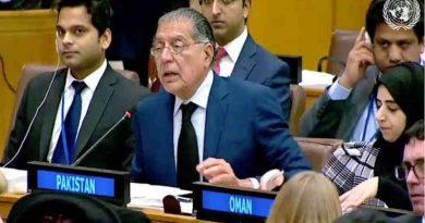 Permanent Representative of Pakistan to the United Nations, Munir Akram. Photo: UN / Govt of Pakistan
