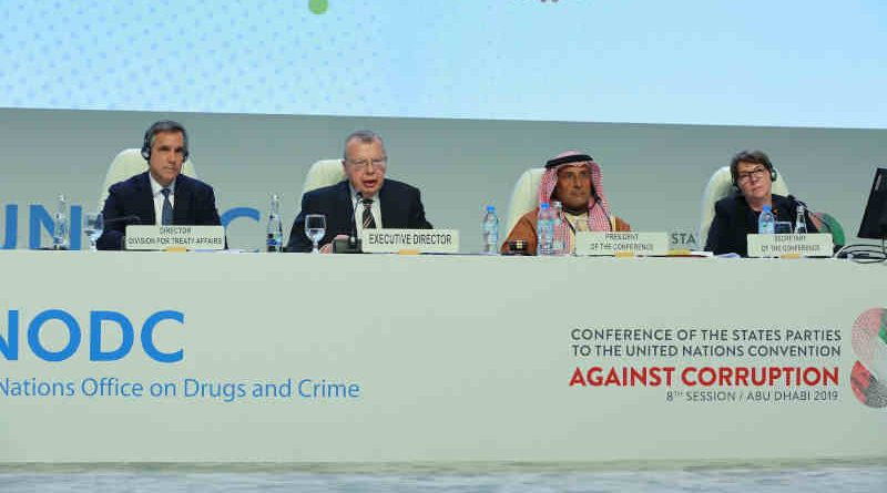 Conference of the States Parties to the United Nations Convention against Corruption. Photo: UNODC