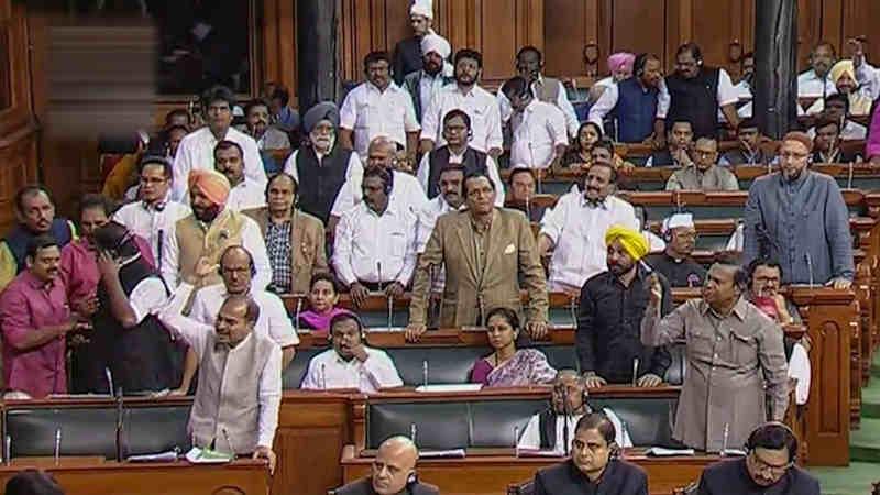 A Scene of Lok Sabha in India. Photo: LSTV