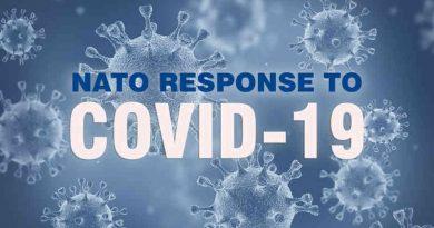 COVID-19. Photo: NATO