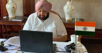 Chief Minister of Punjab Amarinder Singh