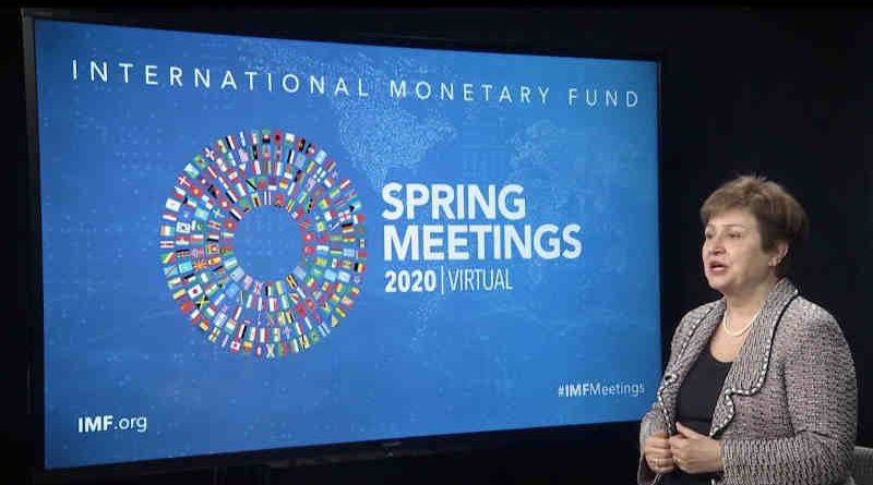 Managing Director of International Monetary Fund (IMF) Kristalina Georgieva. Photo: IMF