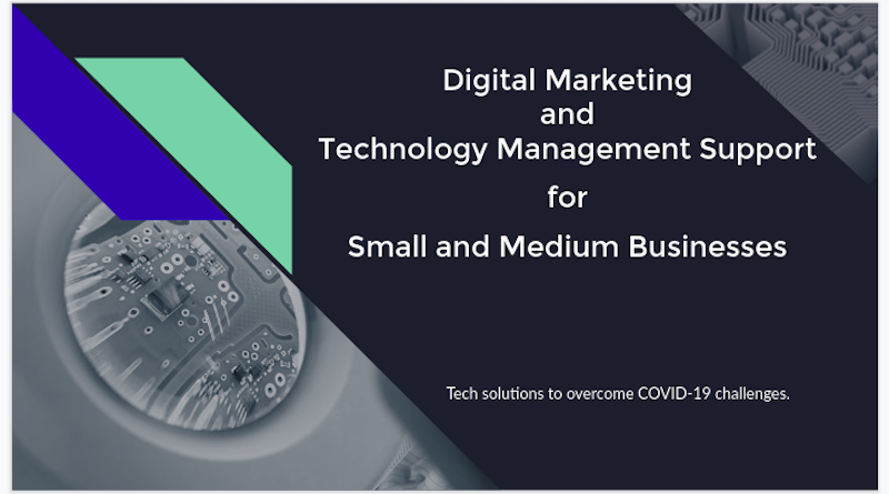 Digital Marketing and Technology Management Support for Small and Medium Businesses