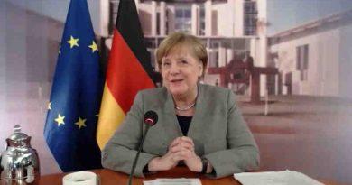 German Chancellor Angela Merkel at an online pledging event organized by the European Commission. Photo: Presse- und Informationsamt der Bundesregierung / Europäische Union, 2020 (file photo)