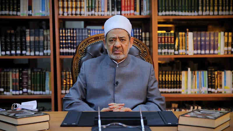 His Eminence Dr Ahmed El-Tayeb, Grand Imam of Al Azhar. Photo: Higher Committee of Human Fraternity